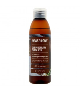 Barwa Ziołowa Szampon ziołowy czarna rzepa 250 ml
