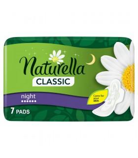 Naturella Classic Night Camomile Podpaski ze skrzydełkami x7