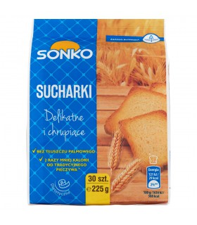 Sonko Sucharki 225 g (30 sztuk)