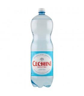 Muszyna Cechini Naturalna woda mineralna wysokomineralizowana wysokonasycona 2 l