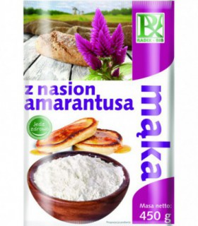 Mąka z nasion amarantusa Radix- Bis 450g