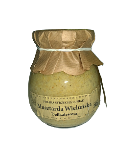 Musztarda wieluńska delikatesowe 240g Luniak