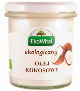 Olej Kokosowy Bezzapachowy Bio 240 g EkoWital