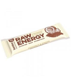 BOMBUS Baton Raw Energy kokos - kakao bezglutenowy (50g)