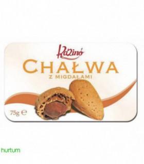 Kazino Chałwa sezamowa-migdały 75 g