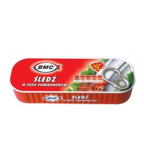 Śledź w sosie pomidorowym 125g