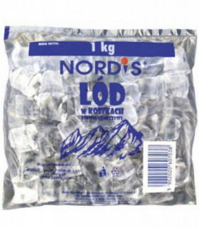 Nordis Lód w kostkach 1 kg