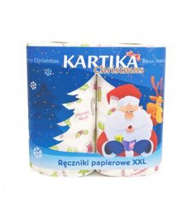 Ręcznik Kartika Christmas DECO 2 rolki