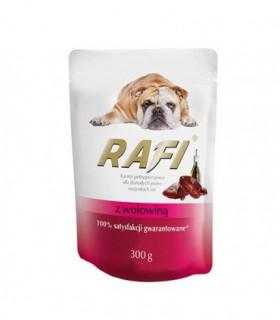 Rafi Karma pełnoporcjowa dla dorosłych psów wszystkich ras z wołowiną