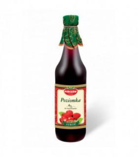 GOMAR PIŃCZÓW Poziomka wg tradycyjnych receptur Syrop o smaku poziomkowym 500 ml