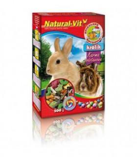 Natural-vit spichlerz gryzonia - królik 500g