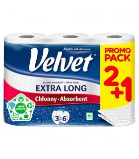 Velvet Extra Long Ręcznik papierowy 3 rolki