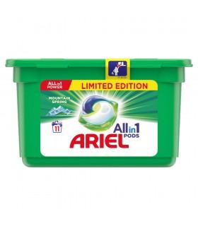 Ariel Allin1 Pods Mountain Spring Kapsułki do prania, 11prań