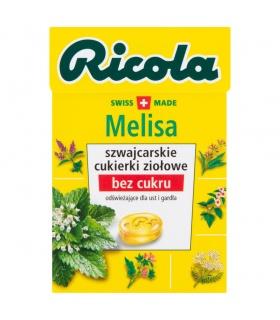 Ricola Szwajcarskie cukierki ziołowe melisa 27,5 g