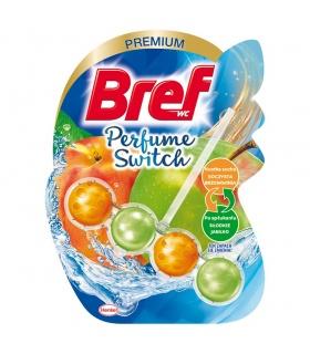 Bref WC Perfume Switch Zawieszka myjąco-zapachowa do muszli WC brzoskwinia-słodkie jabłko 50 g