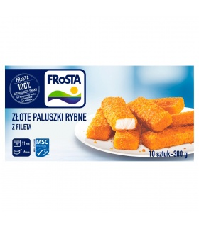 FRoSTA Złote paluszki rybne z fileta 300 g (10 sztuk)