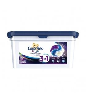 Coccolino kapsułki 3w1 do prania czarnych i ciemnych tkanin 486g