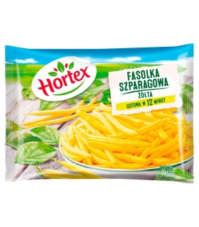 Fasolka szparagowa żółta 450g Hortex