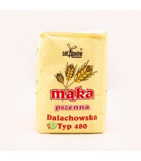 Mąka pszenna wrocławska typ 480 Młyn Dalachów