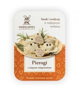 Pierogi z mięsem wieprzowym Pierogarnia Staropolska
