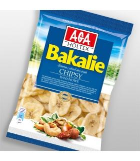 Chipsy bananowe 80g AGA Holtex Bakalie