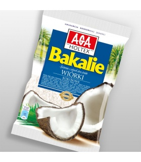 Wiórki kokosowe 100g AGA Holtex