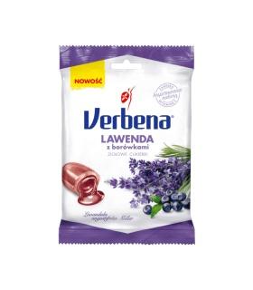 Verbena Ziołowe cukierki lawenda z borówkami 60 g