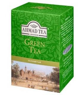 HERBATA AHMAD GREEN TEA LIŚĆ 100G