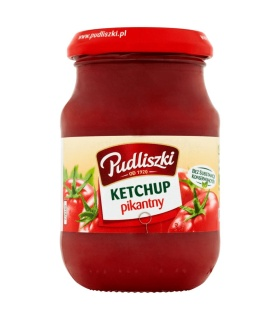 Pudliszki ketchup pikantny 205g