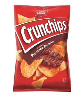 CHIPSY CRUNCHIPS PIECZONE ZEBERKA 140G LBSNACKS