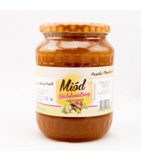 Miód wielokwiatowy nektarowy 950g Pasieka Chmielowice