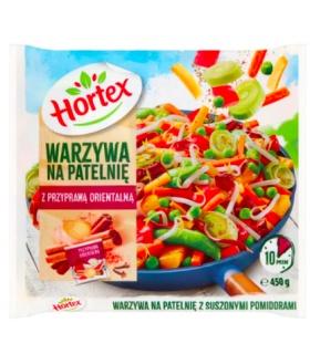 Hortex Ortika warzywa na patelnię z przyprawą orientalną 450g