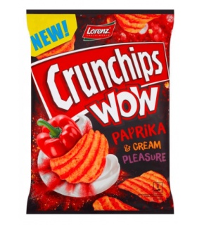 CHIPSY CRUNCHIPS WOW PAPR CREAM 110G LBSNACKS