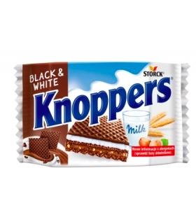 WAFEL KNOPPERS BLACK&WHITE 25G STORCK
