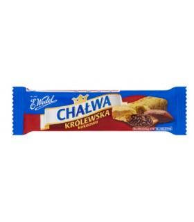 Wedel Chałwa Królewska o smaku waniliowym z kakao 50g