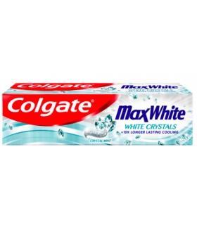 COLGATE PASTA  MAX WHITE 100ML CRYSTAL MINT