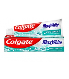 COLGATE MAX WHITE 100ML-CRYST.GEL