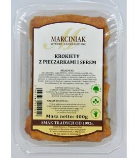 Krokiety z pieczarkami i serem Marciniak 350g
