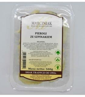 Marciniak Pierogi ze szpinakiem 500g
