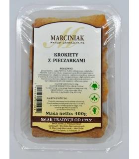 Krokiety z pieczarkami Marciniak 400g