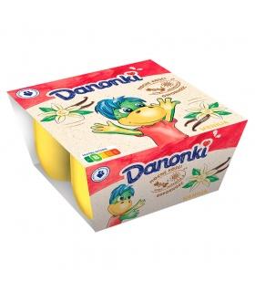 Danone Danonki Serek wanilia 200 g (4 x 50 g)