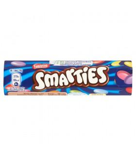 Smarties Mleczna czekolada w chrupiących cukrowych skorupkach 38 g