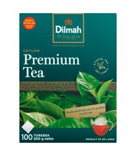 Dilmah Ceylon Premium Tea Klasyczna czarna herbata 200 g (100 x 2 g)