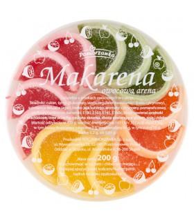 Pomorzanka Makarena owocowa arena Galaretka o smakach owocowych w cukrze 200 g