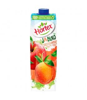 Hortex Napój jabłko brzoskwinia 1 l