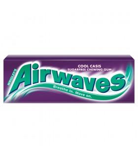Airwaves Cool Cassis Guma do żucia bez cukru 14 g (10 drażetek)