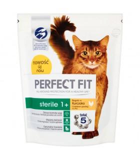 Perfect Fit Sterile 1+ Karma pełnoporcjowa dla dorosłych kotów 750 g