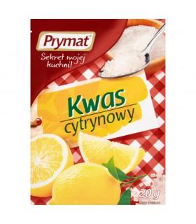 Prymat Kwas cytrynowy 20 g