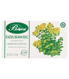 Bifix Suplement diety herbatka ziołowa dziurawiec 30 g (20 x 1,5 g)