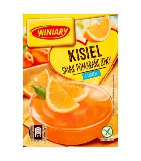 Winiary Kisiel z cukrem smak pomarańczowy 77 g